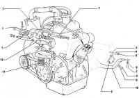 Motoraufhängung, Getriebebaufhängung