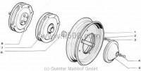 Bremsanlage 500 D/F/L