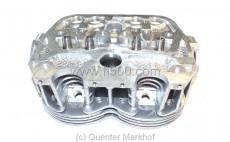 Zylinderkopf 650 E ohne Ventile, Rundkopf mit Wannenbrennraum, für 650 ccm Motor