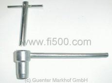 Spezial-Ventileinstellschlüssel mit Konterschlüssel