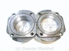 Satz Zylinder + Kolben ( 2+2 ) incl. Ringe, Durchmesser 67,4 mm, 499,5 ccm. Beste Federal Mogul Qualität