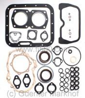 Motordichtsatz kpl. mit Simmerringen 600 ccm, italienische Herstellung (Guarnitauto)