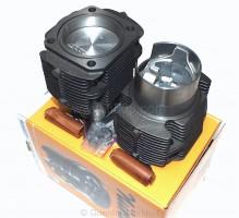 Satz Zylinder + Kolben mit montierten Kolbenringen ( 2+2 ), Ø 77 mm, 650 ccm. Beste Federal Mogul Qualität