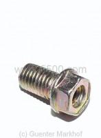 Hohlschraube für Zylinderkopf in original Qualität, Sicherheitsschraube bei defekter Kopfdichtung
