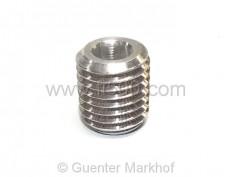 Kurbelgehäuse-Verschlußstopfen mit Innensechskantkopf aus Aluminium (12mm)