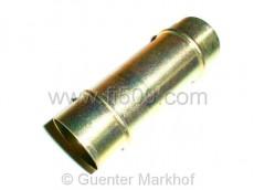 Vergaseransaugrohr-Verbindung für 28er Vergaser, Metallmittelstück