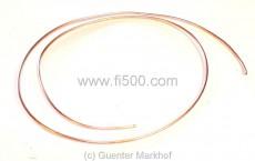 Kupferrohr Außendurchmesser 6 mm, Verlegung als Benzinleitung, Meter