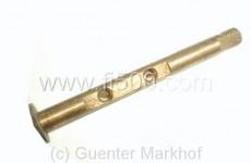 Vergaserklappenwelle 6,0 mm für Fiat 500 Kombi (Weber 26 OC)