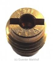 Luftkorrekturdüse 190, passend für Weber-Vergaser