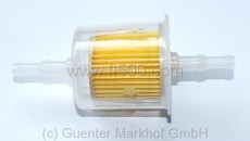 fuel filter, big size (for 6-8 mm hose)