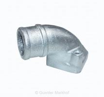 Ansaugkrümmer aus Aluminium für 24 und 28 Vergaser