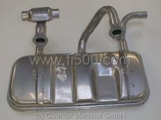 Auspuff mit aufgeschweissten Haltern 126 BIS, 700 ccm (Made in Italy)