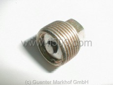Plug with magnet 22x1,5mm