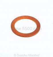 Copper sealing ring for oil drain plug 22mm