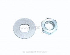 Nut and lockplate for Thermostat