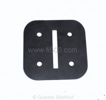 rubber for heater flap