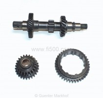 Getriebe Rep.-Satz, 1. Gang kpl. (500R, 126), orig. FIAT Ersatzteile