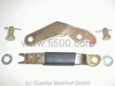 Handbremshebel in Bremsankerplatte kpl. Set für rechte Seite