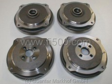 Kit italian METELLI-quality - brakedrums (2 front + 2 rear)