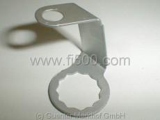Sicherungsblech Bremsschlauch/Zylinder vorn rechts
