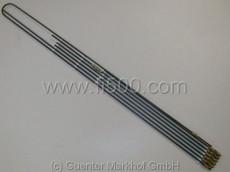 Satz Bremsleitungen / Bremsleitungssatz aus Stahlrohr, kunststoffbeschichtet (lange Verschraubung)