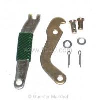 Bremsbackenhebel für Handbremse, kpl. Set für eine Seite