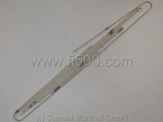 Satz Bremsleitungen / Bremsleitungssatz aus Stahl, kunststoffbeschichtet