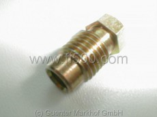 Schraube /Überwurf für Bremsleitungsanschluß an Radbremszylinder M10 x 1,25mm (für F-Bördel)