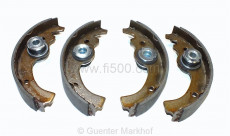 kit of brake shoes with special adjuster (like original)
