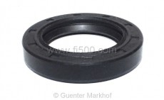 shaft seal wheel bearing in front