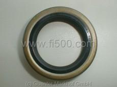 shaft seal wheel bearing in front