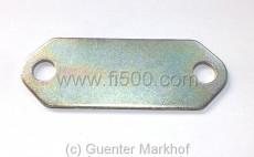 3mm Unterlegplatte für Alu-Lagerbock Blattfeder