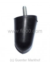 Rubber stopper rear axle, round type like original
