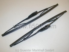 Satz Scheibenwischerblätter, schwarz, Valeo Qualität