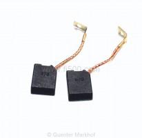Satz Kohlen = 2 Stück für Gleichstrom-Lichtmaschine, Standardqualität