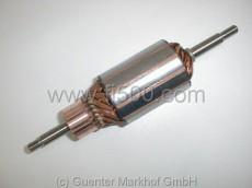Anker (Rotor) für Gleichstrom-Lichtmaschine, Neuteil