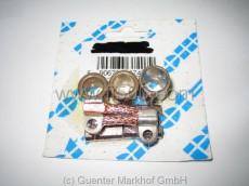 Reparaturset Anlasser (3 Lagerbüchsen + 1 Satz Kohlen)