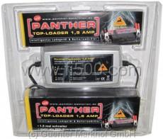 Automatic - Lader (Ladegerät) für Auto- und Motorradbatterien, 1,5 Ampere mit 5 Ladestufen, Mikroprozessorgesteuert
