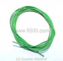 Single core cable, flexible, 0,75 mm² green, length 1,80 m