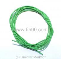 Einadriges Kabel, flexibel, 0,75 mm² grün, Länge 1,80m