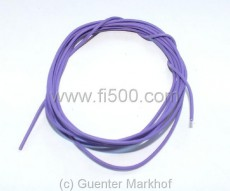 Single core cable, flexible, 0,75 mm² violet, length 1,80 m