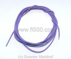 Einadriges Kabel, flexibel, 0,75 mm² violett, Länge 1,80m
