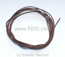 Einadriges Kabel, flexibel, 0,75 mm² braun, Länge 1,80m
