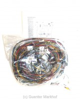complete wiring broom Fiat 500 R, labeled and with wiring diagram