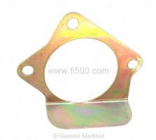 Zwischenblech Anlasser/Getriebeglocke 500F/L, wie Original verzinkt