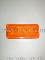 Blinkerglas vorn links, orange (126)