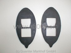 Set (2 pieces) seals for turn signals in front Autobianchi Bianchina