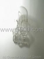 Leuchte 12V 3W mit Glassockel für Tacho Fiat 500 L
