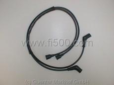 Zündkabelsatz aus Silikon, schwarz, 126 BIS