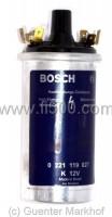 Blaue Bosch Hochleistungszündspule (Betrieb ohne Vorwiderstand)